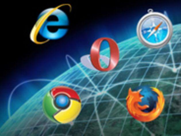 Navigateurs : Chrome poursuit sa percée, Internet Explorer son effritement
