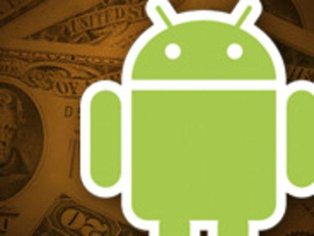 Android : 444 millions de dollars de revenus estimés pour Microsoft en 2012