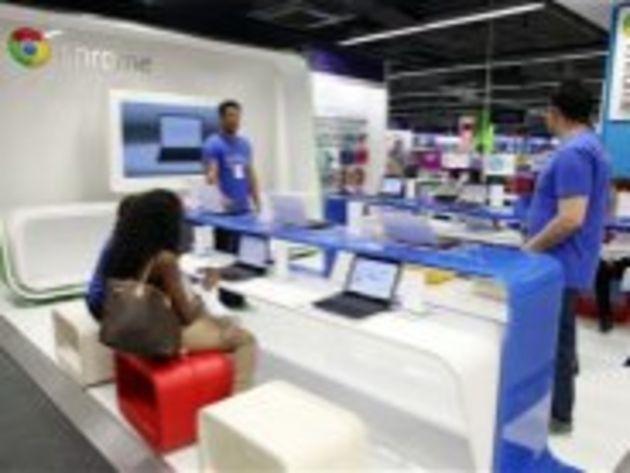 Chromezone : ouverture d'une boutique Google à Londres