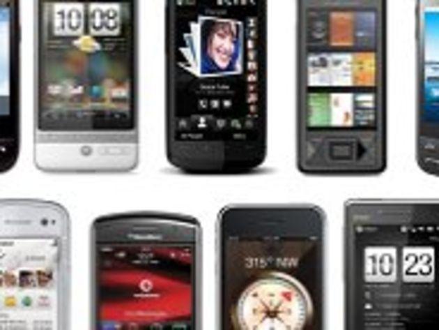 Europe de l'Ouest : les ventes de smartphones dépassent celles de mobiles classiques