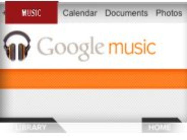 Google Music, le magasin en ligne de musique de Google, est ouvert