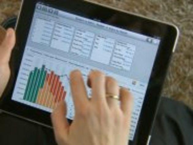 La tablette, environnement de travail de demain ? Non, peut-être après-demain alors...