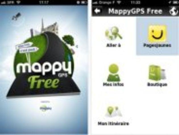 Mappy lance un GPS gratuit pour Android et l'iPhone