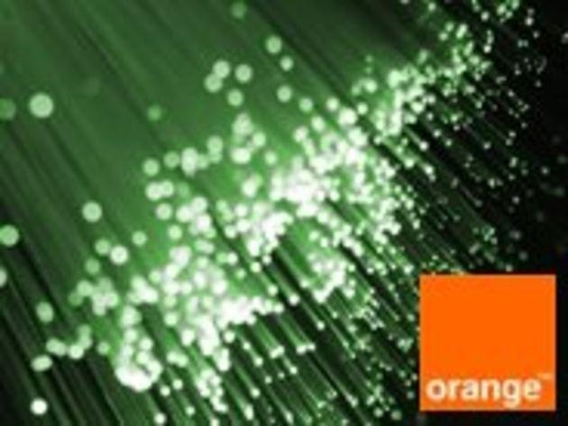 Orange lance son offre fibre optique pour les pros et les PME : 100 Mb/s symétrique