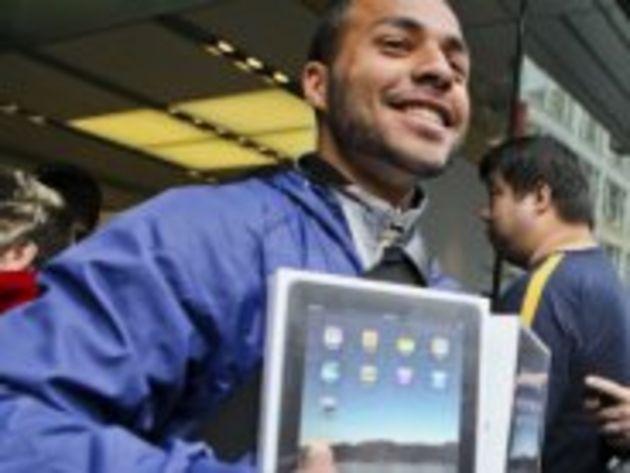 Lancement du nouvel iPad en images : un engouement mesuré