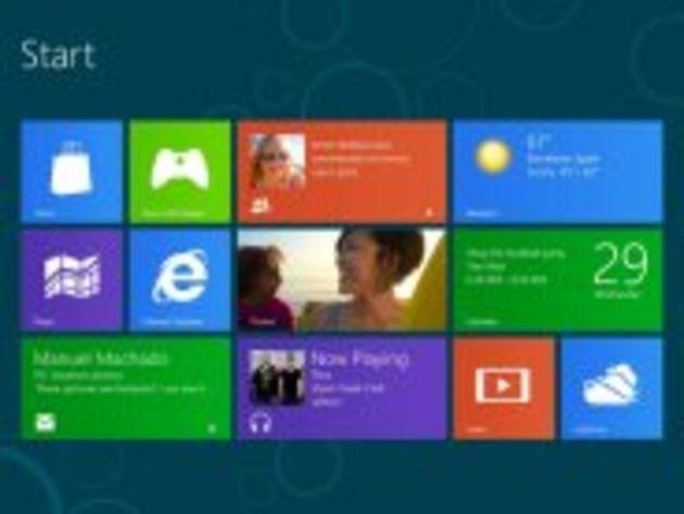 Windows 8 s'adapte aux tablettes à écran haute définition