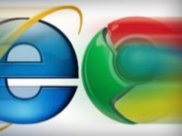 Chrome serait le navigateur le plus utilisé le week-end