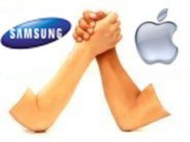 Brevets : Apple et Samsung réduisent de moitié leurs revendications