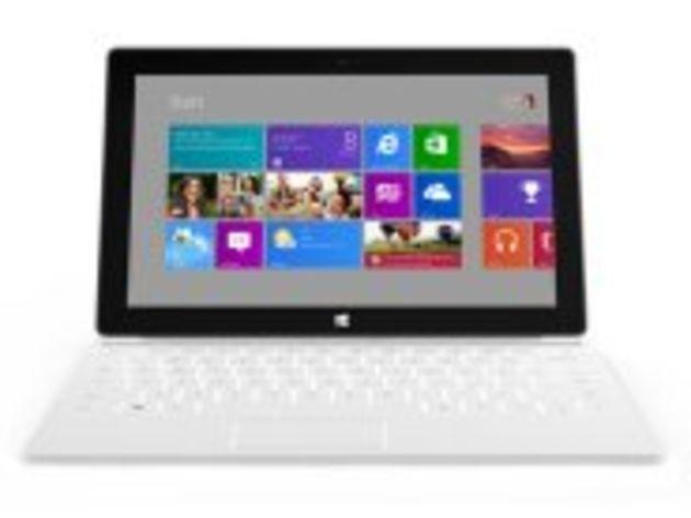 Les tablettes Surface de Microsoft en vente dès le 26 octobre