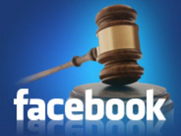 Facebook verse 10 millions de dollars pour clore une class action