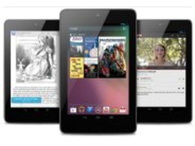 Google I/O : la tablette Nexus 7 officialisée