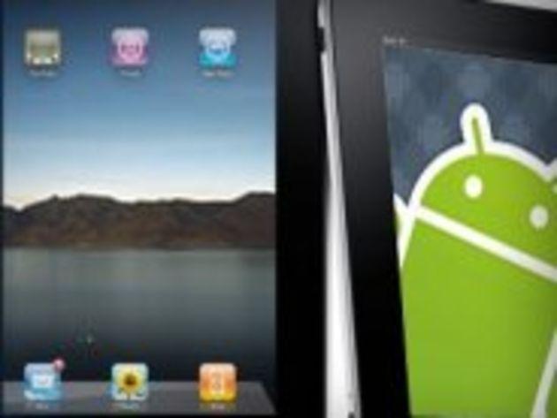 Tablettes : les terminaux Android patinent et n'ébranlent pas l'iPad