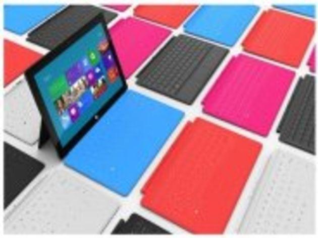 Surface en images : prise en mains des tablettes Windows 8 de Microsoft