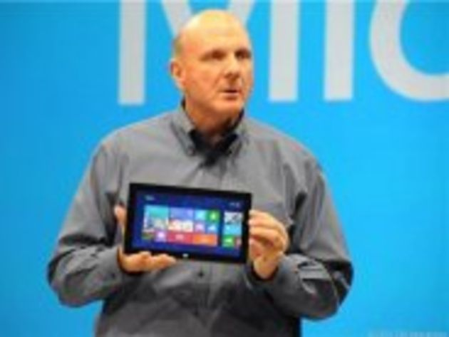 Tablette Surface : entre 300 et 800 dollars selon Steve Ballmer