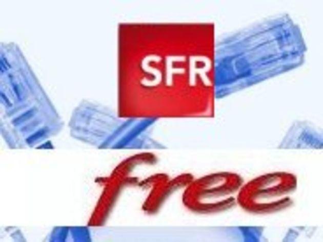 Une partie des réseaux Free et SFR en panne ce week end