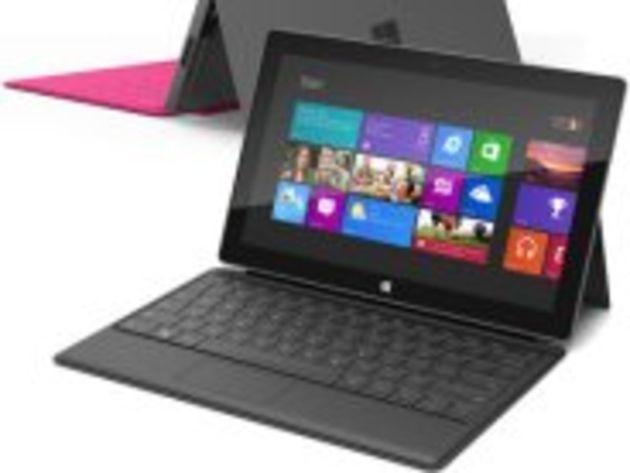 Microsoft Surface : des ventes de tablettes « relativement faibles » selon Dell