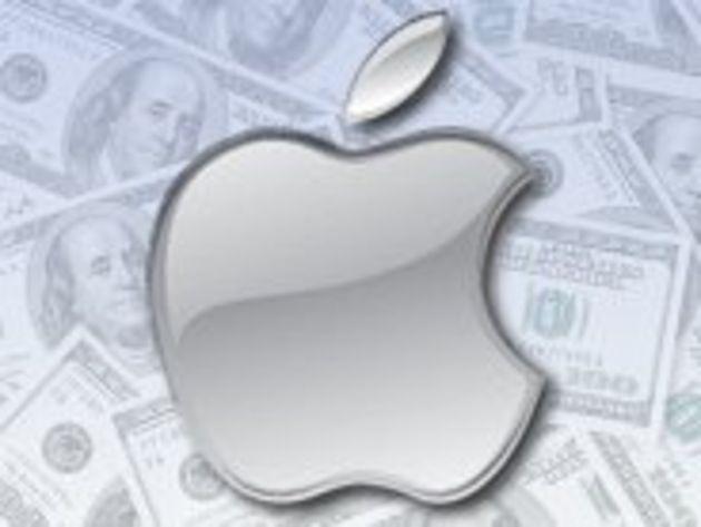 L'action Apple frôle les 700 dollars