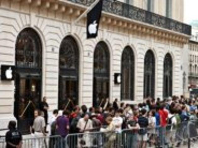 iPhone 5 : un lancement à Paris sans accrocs