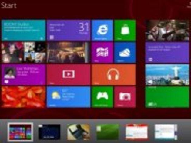 Diaporama Windows 8 : prendre ses marques sur le nouvel OS de Microsoft