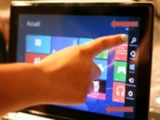 Windows 8 : une ergonomie faible sur tablette et épouvantable sur PC