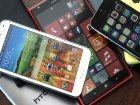 Toujours plus de smartphones vendus en France, et plus grands