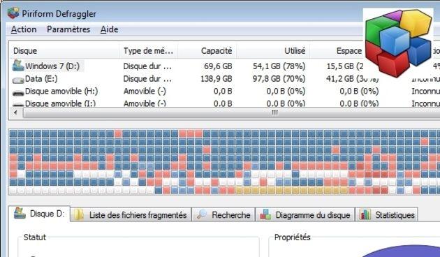 Quels logiciels pour défragmenter les disques durs des PC Windows ?