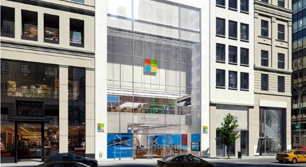 Microsoft ferme ses magasins physiques