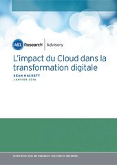 L'impact du Cloud dans la transformation digitale