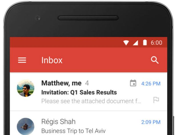 Android :  vers une meilleure intégration de Drive dans Gmail