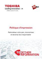 Politique d'impression