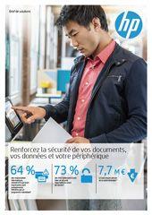 Renforcez la sécurité de vos documents, vos données et votre périphérique
