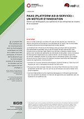 PAAS (PLATFORM-AS-A-SERVICE) : un moteur d'innovation