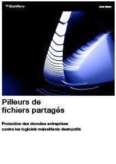 Pilleurs de fichiers partagés - Protection des données entreprises contre les logiciels malveillants destructifs
