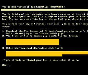 Ressources humaines, ce CV peut cacher le ransomware GoldenEye