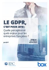 GDPR, c'est pour 2018