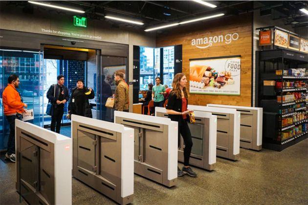 Vidéo : Amazon ouvre un supermarché alimentaire sans caisse