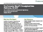 The Forrester Wave™: Translytical Data Platforms, Q4 2017