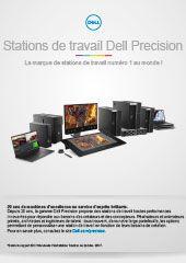 Découvrez la gamme de stations de travail Dell Precision