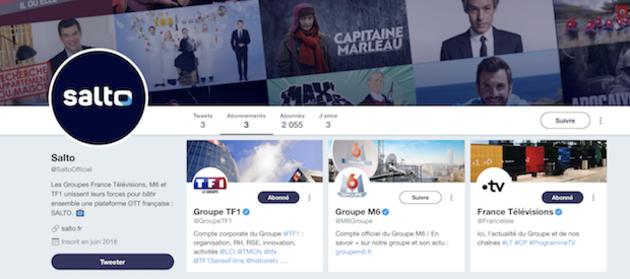 Salto, le Netflix de la télévision française arrive début 2020