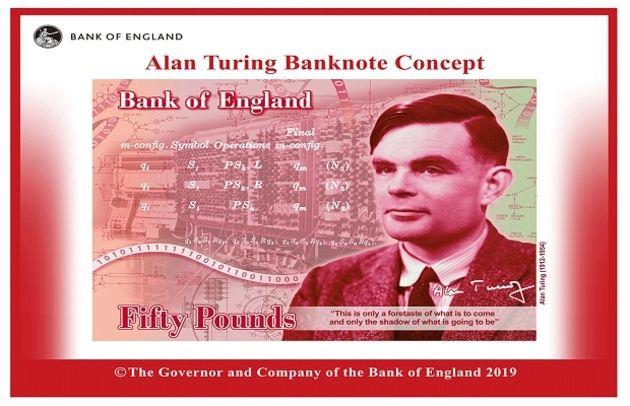Royaume-Uni : Alan Turing prend d'assaut les billets britanniques