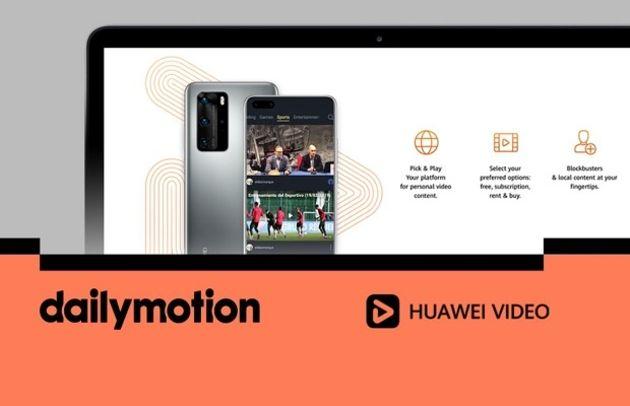 Huawei s'associe à Dailymotion pour doper ses contenus