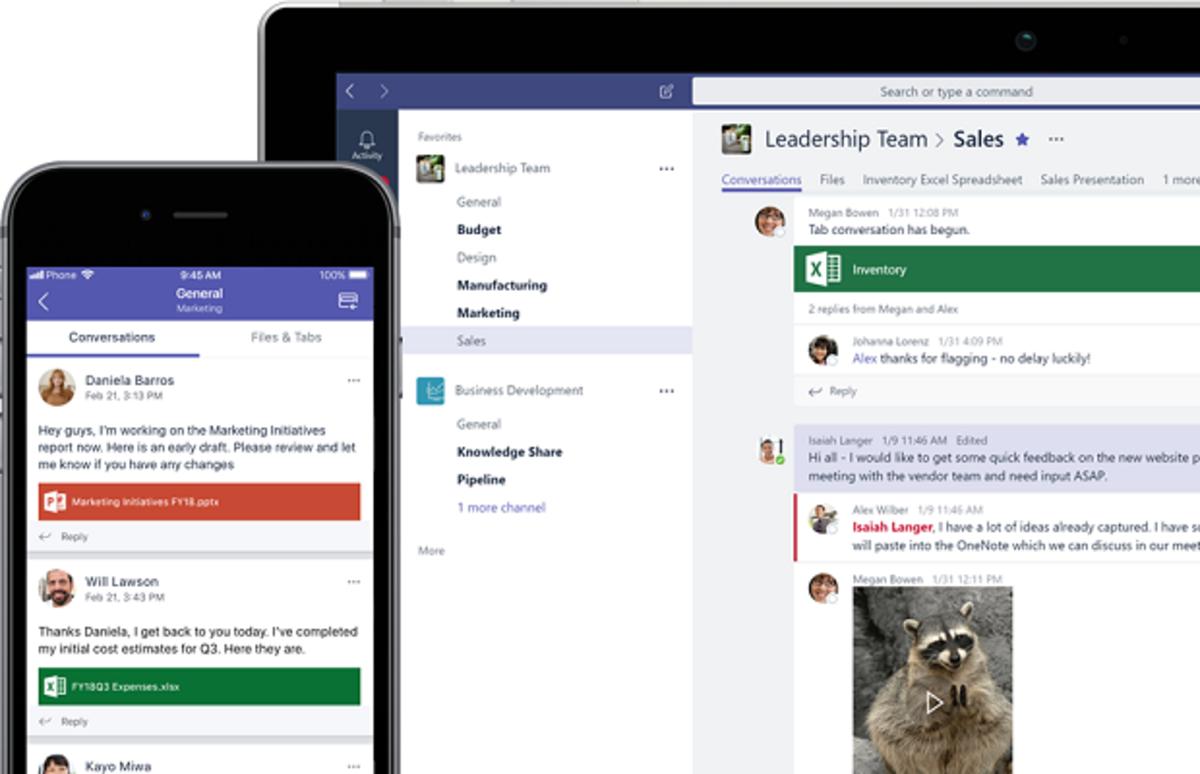 Microsoft Teams: La fonction tableau blanc fait peau neuve