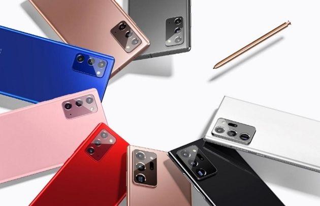 Les Galaxy Note 20 et Note 20 Ultra, des smartphones taillés pour les professionnels