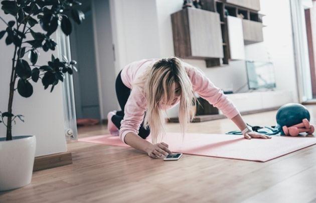 #Jetravaillechezmoi: «Hier c'était gym, aujourd'hui yoga, demain qui sait?»