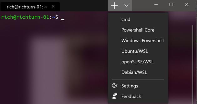 Dernière preview de Windows Terminal : Azure Cloud Shell, mises à jour des paramètres
