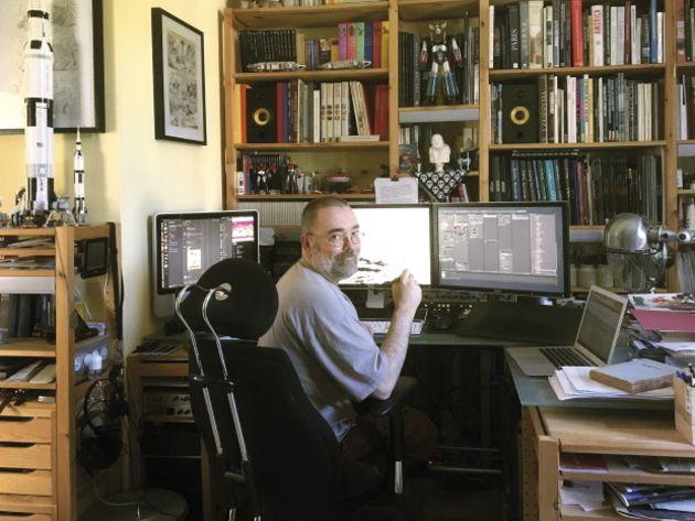 BD et transfo numérique ; Denis Bajram :