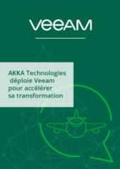 AKKA Technologies déploie Veeam pour accélérer sa transformation digitale