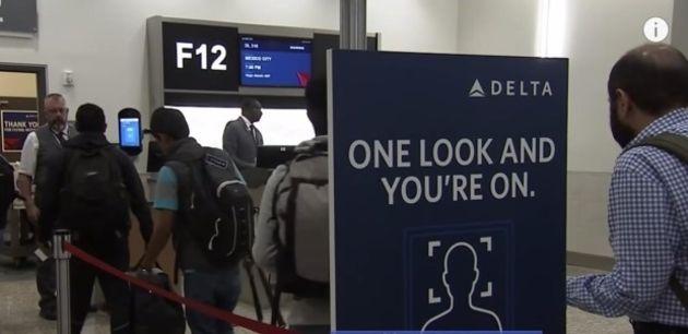 Sur Delta Air Lines, la reconnaissance faciale n'a pas l'air optionnelle