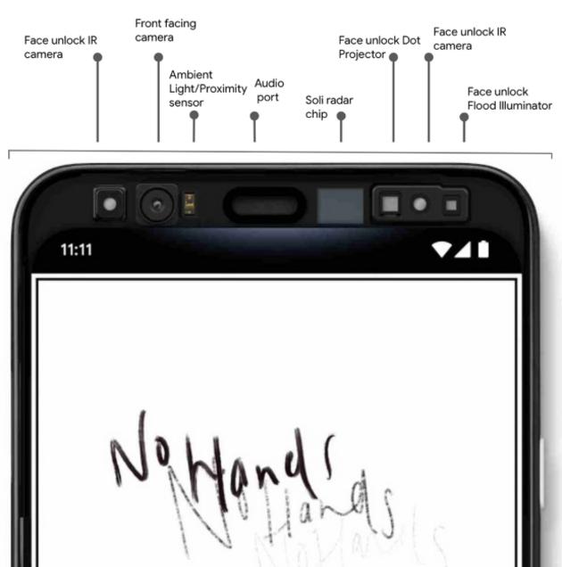 Google Pixel 4 : et voici Motion Sense, le Face ID made in Google