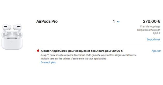 Acheter des AirPods Pro ? Voici pourquoi vous devriez prendre AppleCare+ en plus